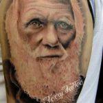 Charles_Darwin_Portrait_Tattoo 1
