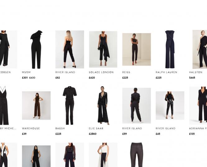 Black-Jumpsuits-for-Evening-Wear-in-the-uk-Black-Bandeau-Jumpsuits